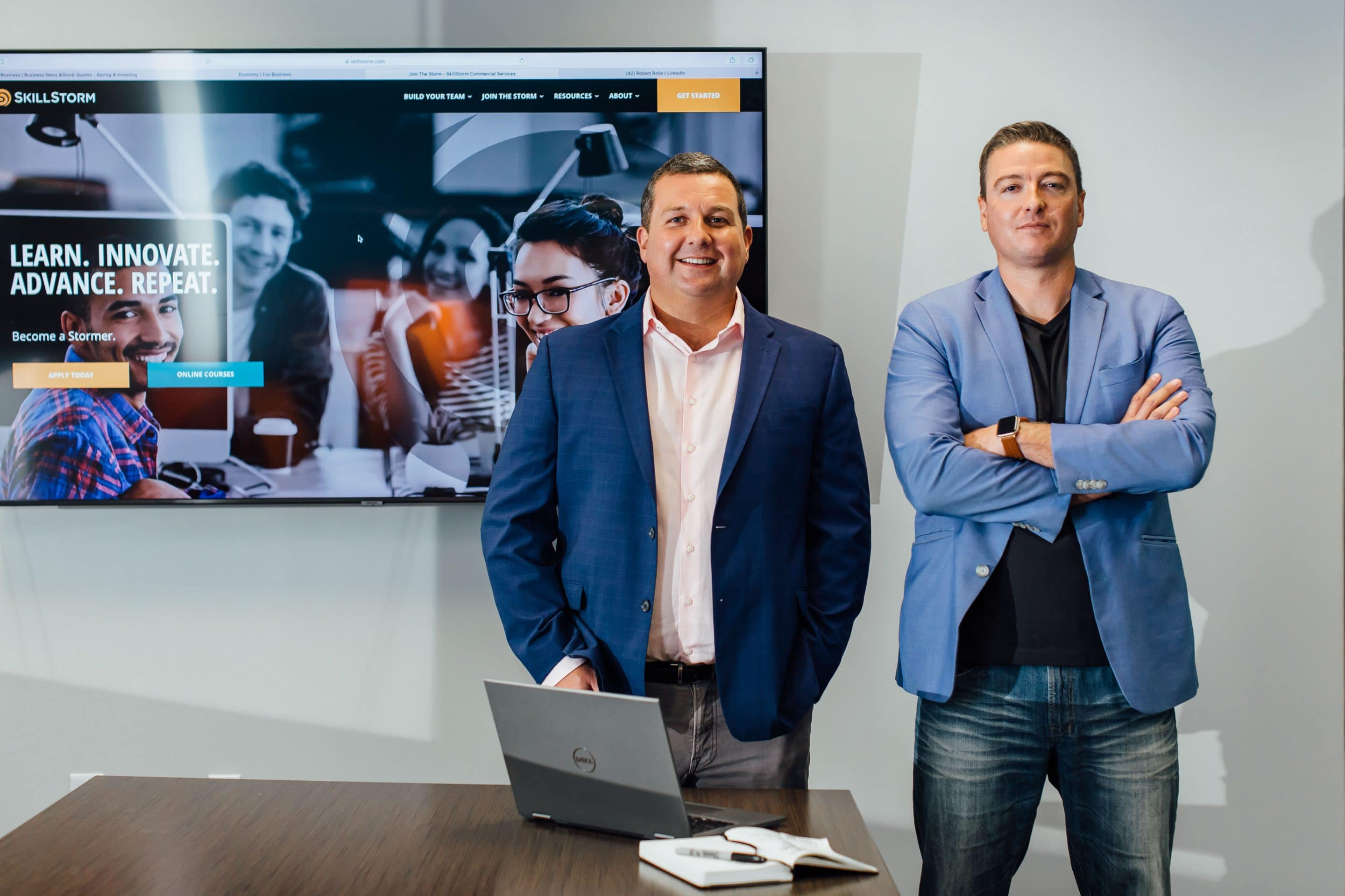 SkillStorm Appoints Justin Vianello as CEO and Joe Mitchell as COO