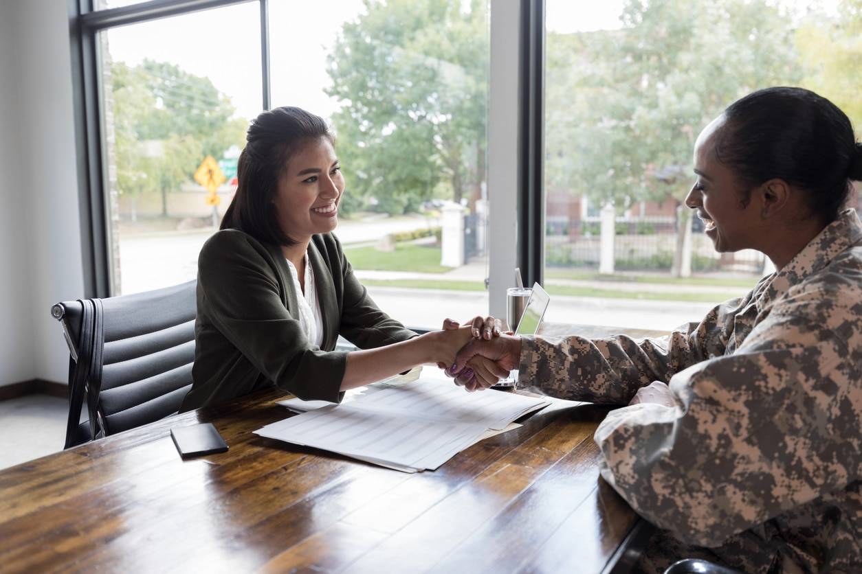 transitioning service members tech career